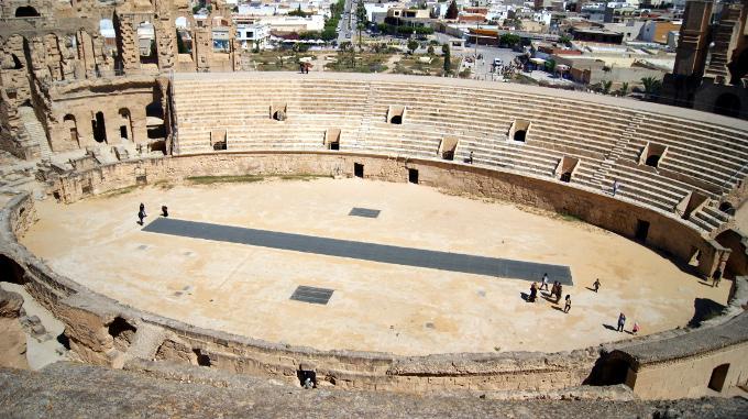 """El Jem - amfiteatr, w którym NIE filmowano """"Żywotu Briana"""""""