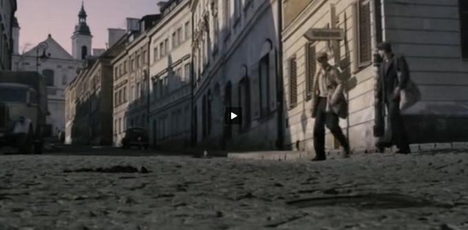 Logika pleneru filmowego według Agnieszki Holland. Warszawska ul. Mostowa udaje Lwów