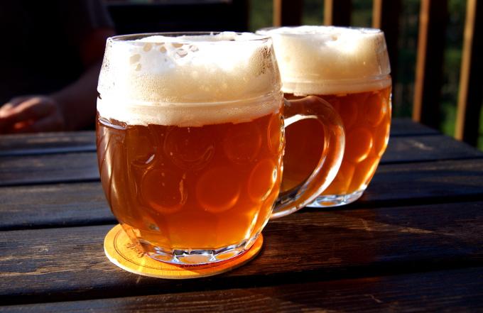 Znalazłaby też piwo z lokalnego browaru za 1,5 euro...