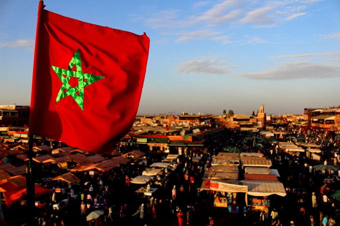Marrakesz flaga