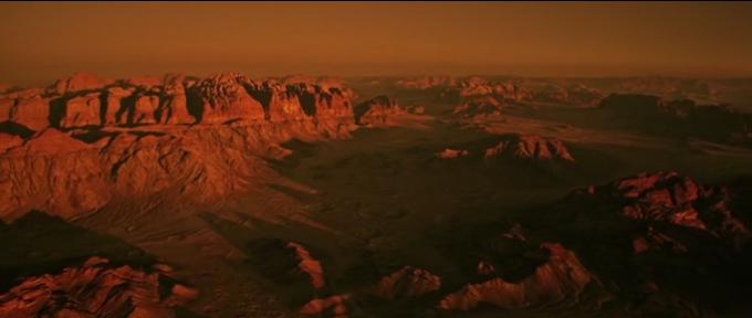 Jordania grała Marsa tyle razy, że nie jesteśmy pewni, na której jest planecie