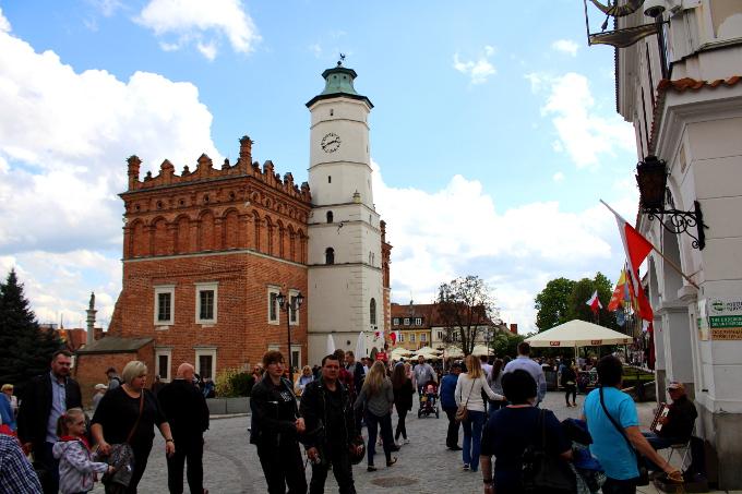 Sandomierz ratusz